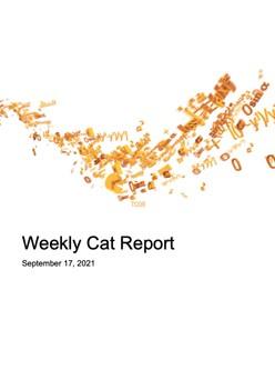 Weekly Cat Report - September 17, 2021