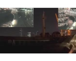 Cargo ship struck scenic riverside in Shanghai VIDEO - FleetMon