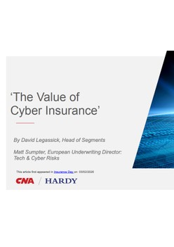 The Value of Cyber Insurance