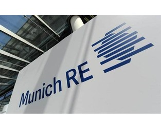 """Munich Re expects rate hardening to persist """"despite alternative capital"""""""