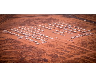 The world's grounded jumbo jets sit in this desert parking lot in the middle of nowhere - Fortune