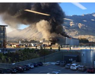 One injured in massive Queenstown blaze - Otago Daily Times