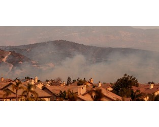 Wildfires force shut down of construction sites in the West - Construction Dive