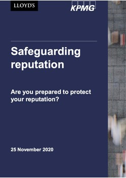Safeguarding reputation - Lloyd's