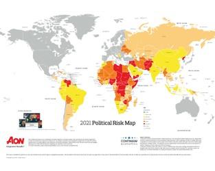 2021 Political Risk Map