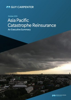 2018 Asia Pacific Catastrophe Reinsurance Report
