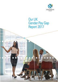 Our UK Gender Pay Gap Report 2017