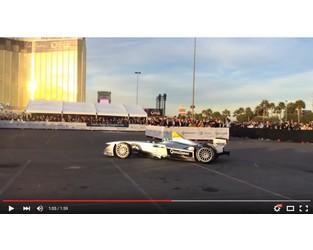Formula E Electric Race car debuts at 2014 CES