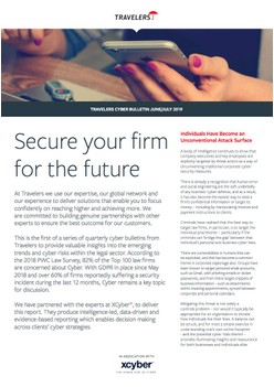 Secure your firm for the future
