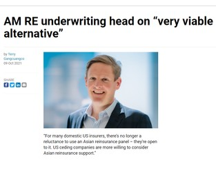 """AM RE underwriting head on """"very viable alternative"""" - Insurance Business"""