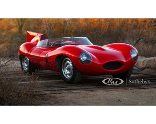 1955 Jaguar D-Type headed to auction - Motor Authority