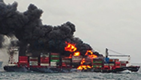 As disasters multiply, container ship insurers face troubled seas