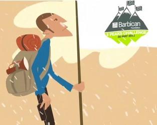 Barbican Foundation 3 Peaks Challenge