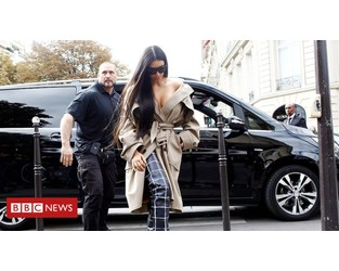 Kim Kardashian bodyguard sued for $6.1m - BBC News