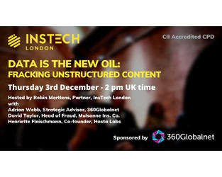 Webcast: Data is the New Oil - Fracking Unstructured Content