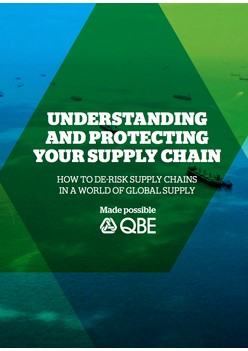 Report: Understanding And Protecting Your Supply Chain