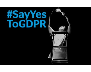 """Say """"YES"""" to GDPR"""
