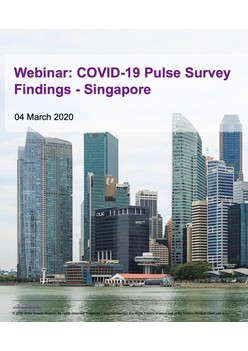 Findings from the Singapore COVID-19 Readiness Pulse Survey
