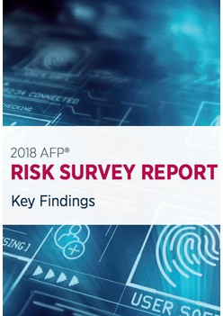 Association Of Financial Professionals/Marsh & McLennan Risk Survey Report: 2018