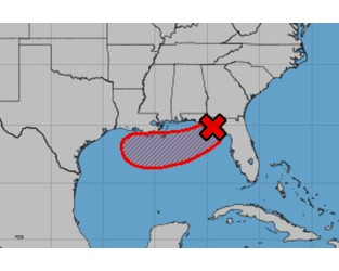 Tropical storm Barry brews, as hurricane forecasts stay static
