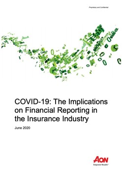 COVID-19: The Implications on Financial Reporting in the Insurance Industry