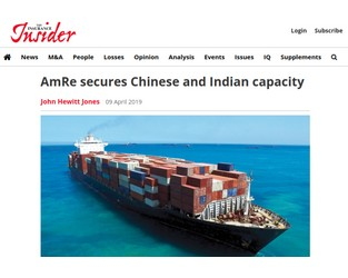 AM RE secures Chinese and Indian capacity - Insurance Insider