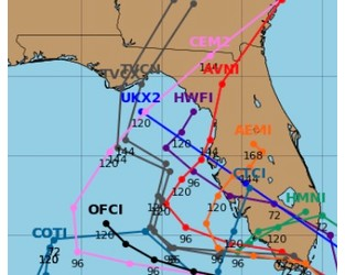 Eta Redevelopment; Caribbean and Florida Threat; Central America Impacts